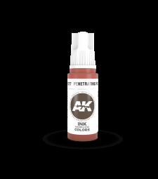 AK11227 Penetrating Red INK  (17 ml) - Акрилни бои от ново поколение