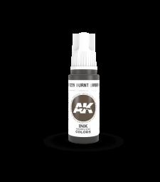 AK11229 Burnt Umber INK 17 ml - Акрилни бои от ново поколение
