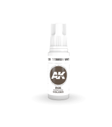 AK11230 Titanium White INK  (17 ml) - Акрилни бои от ново поколение