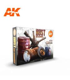 AK11605 RUST SET - (6 x 17 ml) - Акрилни бои от ново поколение