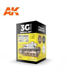AK11645 GERMAN STANDARD 37-44 COMBO - (3 x 17 ml) - Акрилни бои от ново поколение