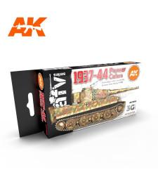 AK11656 GERMAN WAR COLORS 37-44 - (6 x 17 ml) - Акрилни бои от ново поколение