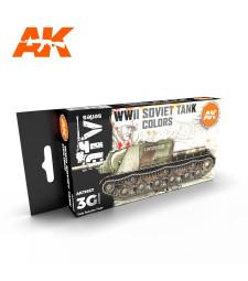 AK11657 SOVIET CAMOUFLAGES - (6 x 17 ml) - Акрилни бои от ново поколение