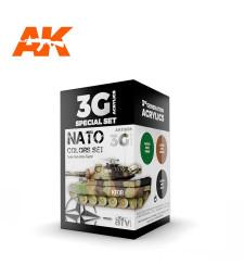 AK11658 NATO COLORS - (3 x 17 ml) - Акрилни бои от ново поколение