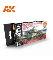 AK11662 MODERN RUSSIAN COLOURS VOL.1 - (6 x 17 ml) - Акрилни бои от ново поколение