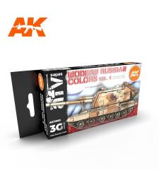 AK11663 MODERN RUSSIAN COLOURS VOL.2 - (6 x 17 ml) - Акрилни бои от ново поколение