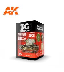 AK11665 RUSSIAN STANDARD WWII COMBO - (3 x 17 ml) - Акрилни бои от ново поколение