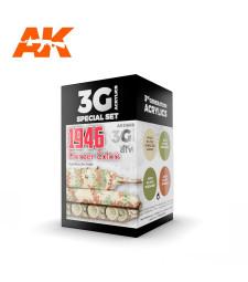 AK11669 PANZER COLORS 1946 - (4 x 17 ml) - Акрилни бои от ново поколение