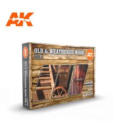 AK11673 OLD & WEATHERED WOOD VOL.1 - (6 x 17 ml) - Акрилни бои от ново поколение