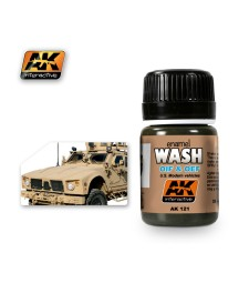 AK-121 WASH FOR OIF & OEF - US VEHICLES - Ерозиращ продукт (35 ml)