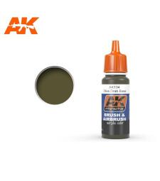 AK134 Olive Drab Base - Акрилна боя от синя серия (17 ml)