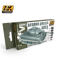 AK160 PANZER GREY - Модулиращ комплект бои (6 x 17 ml)