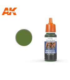 AK172 Olivgrun Base- Акрилна боя от синя серия (17 ml)