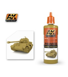 AK176  Dark Yellow Primer (60 ml) - Грунд, тъмножълто