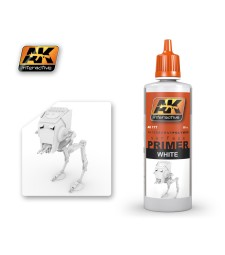 AK177 WHITE PRIMER (60 ml) - Грунд, бял