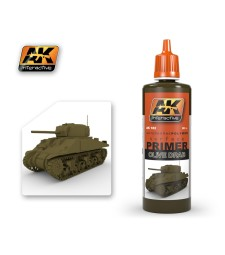 AK-182 OLIVE DRAB PRIMER (60 ml) - Грунд