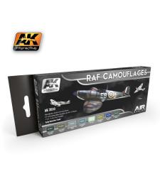 AK2010 RAF CAMOUFLAGES - Комплект бои за авиация (8 x 17 ml)