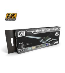 AK-2020 LUFTWAFFE CAMOUFLAGES VOL.2 - Комплект бои за авиация (8 x 17 ml)