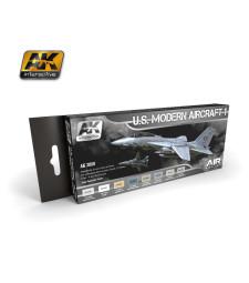 AK-2050 U.S. MODERN AIRCRAFT 1 - Комплект бои за авиация (8 x 17 ml)