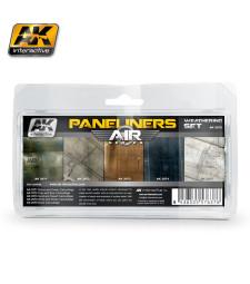 AK2070 PANELINERS - Ерозиращ комплект за авиация (5 x 35 ml)