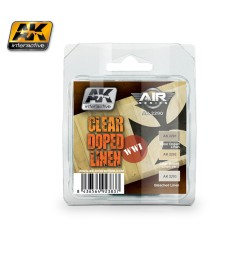 AK-2290 CLEAR DOPED LINEN SET - Air Series Set (4 x 17 ml)