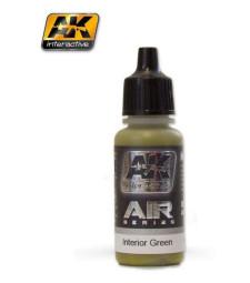 AK2303 INTERIOR GREEN - Акрилна боя за авиация (17 ml)
