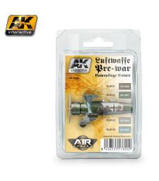 AK-2320 LUFTWAFFE PRE-WAR CAMOUFLAGE COLORS - Комплект бои за авиация (4 x 17 ml)