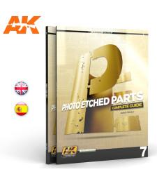 AK244 PHOTOETCH PARTS (AK LEARNING SERIES Nº7) (на английски и испански език)