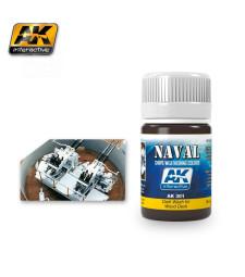 AK301 DARK WASH FOR WOOD DECKS  (35 ml) - Ерозиращ продукт за кораби