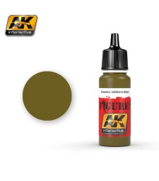 AK3122 RUSSIAN UNIFORM BASE - Акрилна боя за фигури (17 ml)