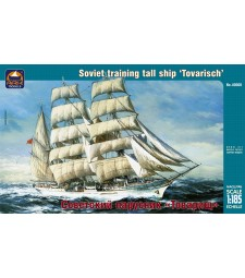 """1:185 Руски тренировъчен клипер """"Товарищ"""" (""""Tovarisch"""")"""