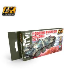 AK4140 MODERN RUSSIAN COLOURS VOL.2 - Комплект акрилни бои (6 x 17 ml)