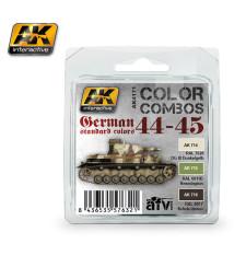 AK4171 GERMAN STANDARD 44-45 COLOR COMBO - Комплект акрилни бои (3 x 17 ml)