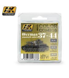 AK4172 GERMAN STANDARD  37-44 COLOR COMBO - Комплект акрилни бои (3 x 17 ml)