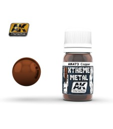 AK-473 XTERME METAL COPPER  (30 ml) - Металайзер Xtreme