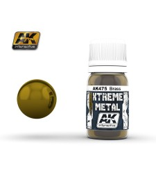 AK-475 XTREME METAL BRASS  (30 ml) - Металайзер Xtreme