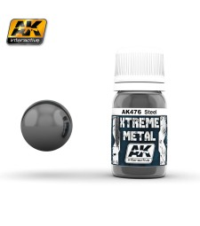 AK-476 XTREME METAL STEEL  (30 ml) - Металайзер Xtreme