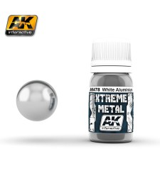 AK478 XTREME WHITE ALUMINIUM  (30 ml) - Металайзер Xtreme