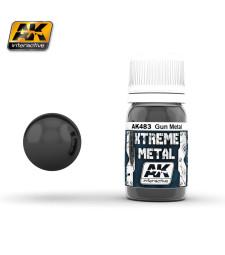 AK-483 XTREME METAL GUN METAL  (30 ml) - Металайзер Xtreme