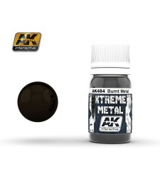 AK-484 XTREME METAL BURNT METAL  (30 ml) - Металайзер Xtreme