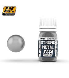 AK488 XTERME METAL MATTE ALUMINIUM  (30 ml) - Металайзер Xtreme