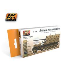 AK550 AFRIKA KORPS - Комплект акрилни бои (6 x 17 ml)