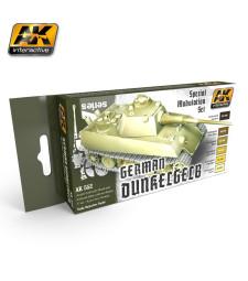 AK552 GERMAN DUNKELGELB - Модулиращ комплект бои (6 x 17 ml)