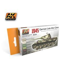 AK554 1945 GERMAN LATE WAR - Комплект акрилни бои (6 x 17 ml)