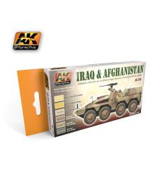 AK558 IRAQ & AFGHANISTAN - Комплект акрилни бои (6 x 17 ml)
