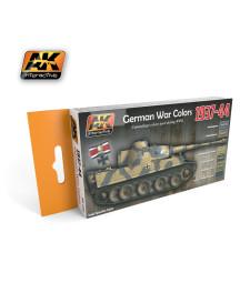 AK560 1937-1944 GERMAN - Комплект акрилни бои (6 x 17 ml)