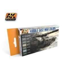 AK-564 MIDDLE EAST WAR VOL.1 - Комплект акрилни бои (6 x 17 ml)
