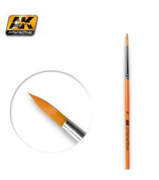 AK606 Кръгла четка 6 - синтетична
