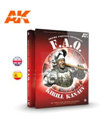 AK630 FIGURES F.A.Q. – FIGURE PAINTING TECHNIQUES – THE COMPLETE GUIDE FOR FIGURE SCALE MODELERS (на английски език)