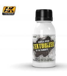 AK-665 Texturizer Acrylic Resin 100ml